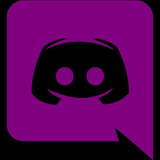 Purple discord icon  Free purple site logo icons