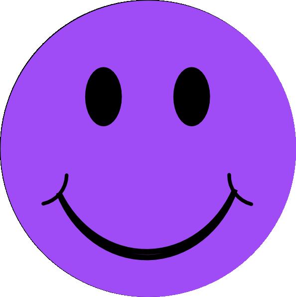 Purple Happy Face  ClipArt Best