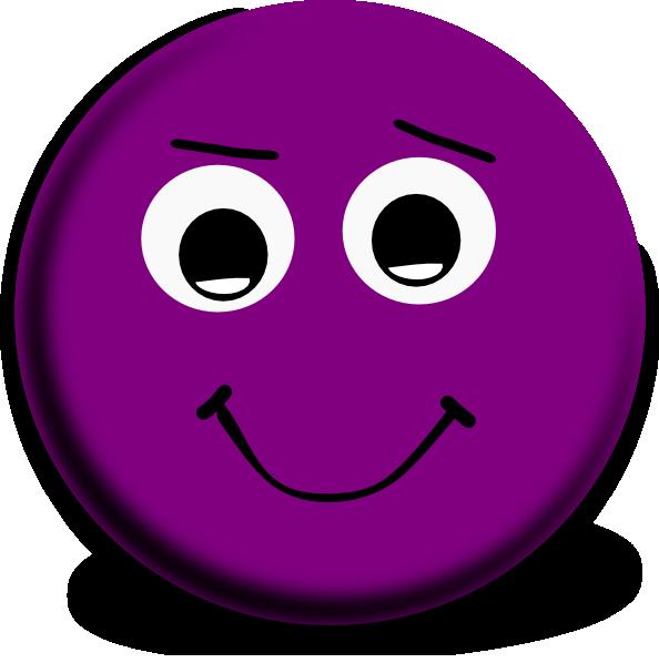 Purple Smiley Face Clipart  Clipart Suggest