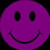 Dark Purple Happy Clip Art at Clkercom  vector clip art
