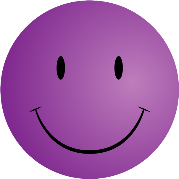 Free Printable Smiley Faces Clip Art  Purple Smiley Face