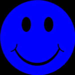 Blue Smiley Face Clip Art at Clker.com - vector clip art ... - Purple Smiley Face Clip Art
