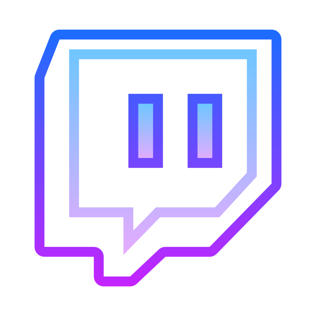 Download Blue Angle Icons Media Streaming Computer Twitch