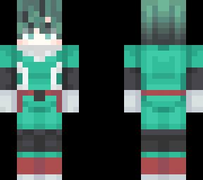 Deku original Suit  Minecraft Skin