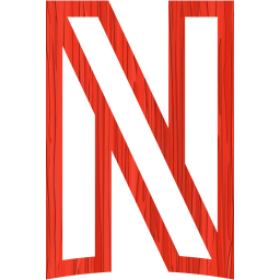Sketchy red netflix icon  Free sketchy red site logo