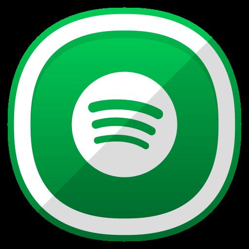 Icono Spotify red social Gratis de Free Cute Shaded