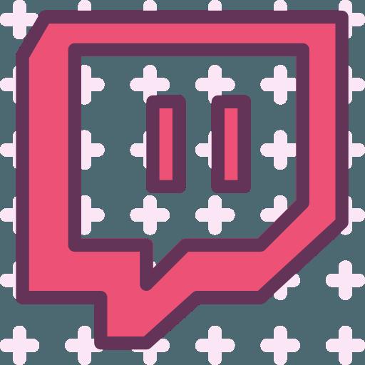 Red Twitch Logo  LogoDix