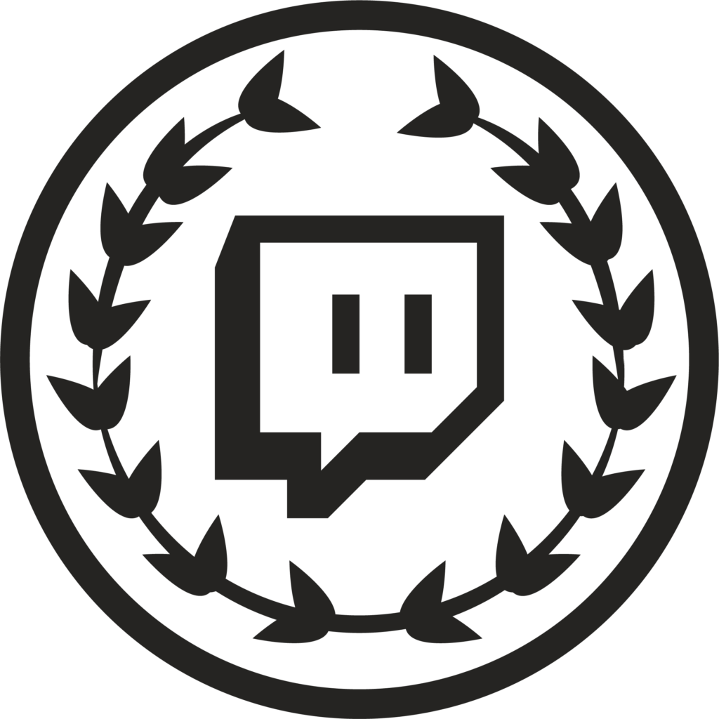 Download Twitch Student Logo  Twitch Logo Red PNG Image