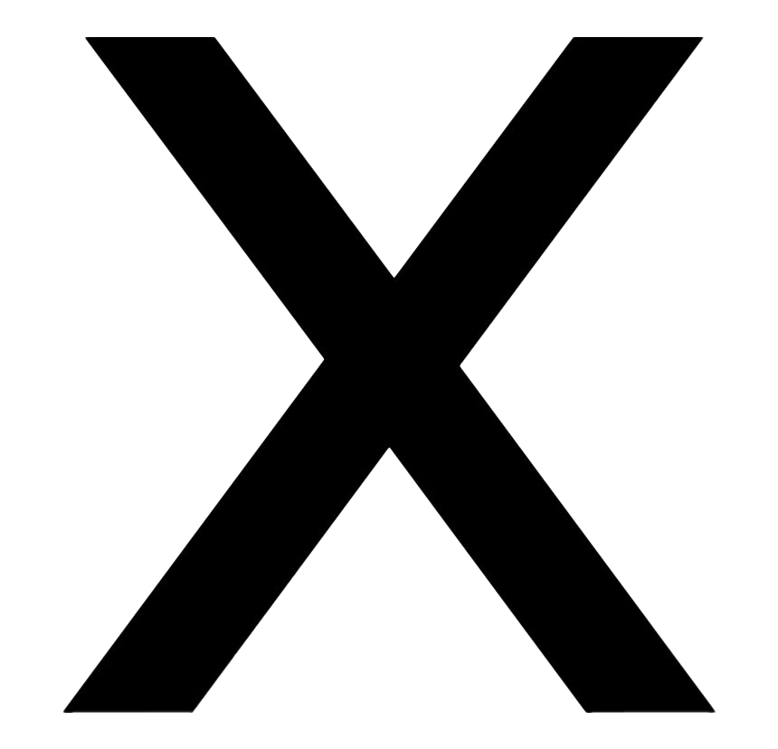 X letter PNG Transparent Images  PNG All