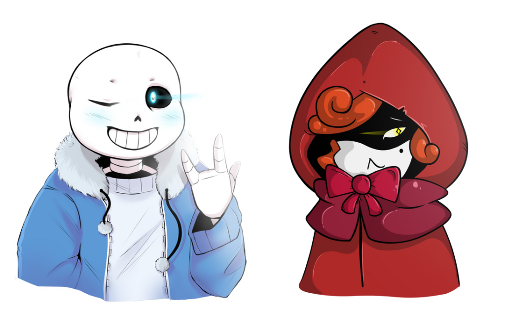 Sans and Red  Collab UNDERTALE by Casadee on DeviantArt