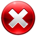 CategoryRed X icons  Wikimedia Commons
