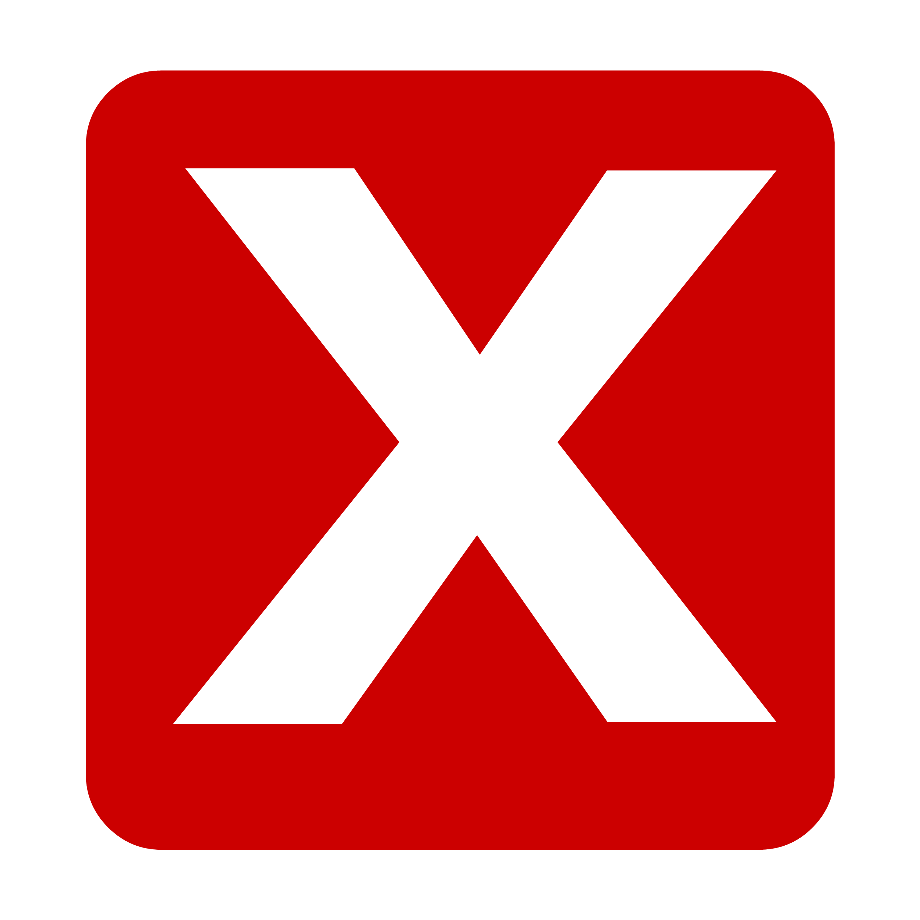 Download High Quality x transparent button Transparent PNG