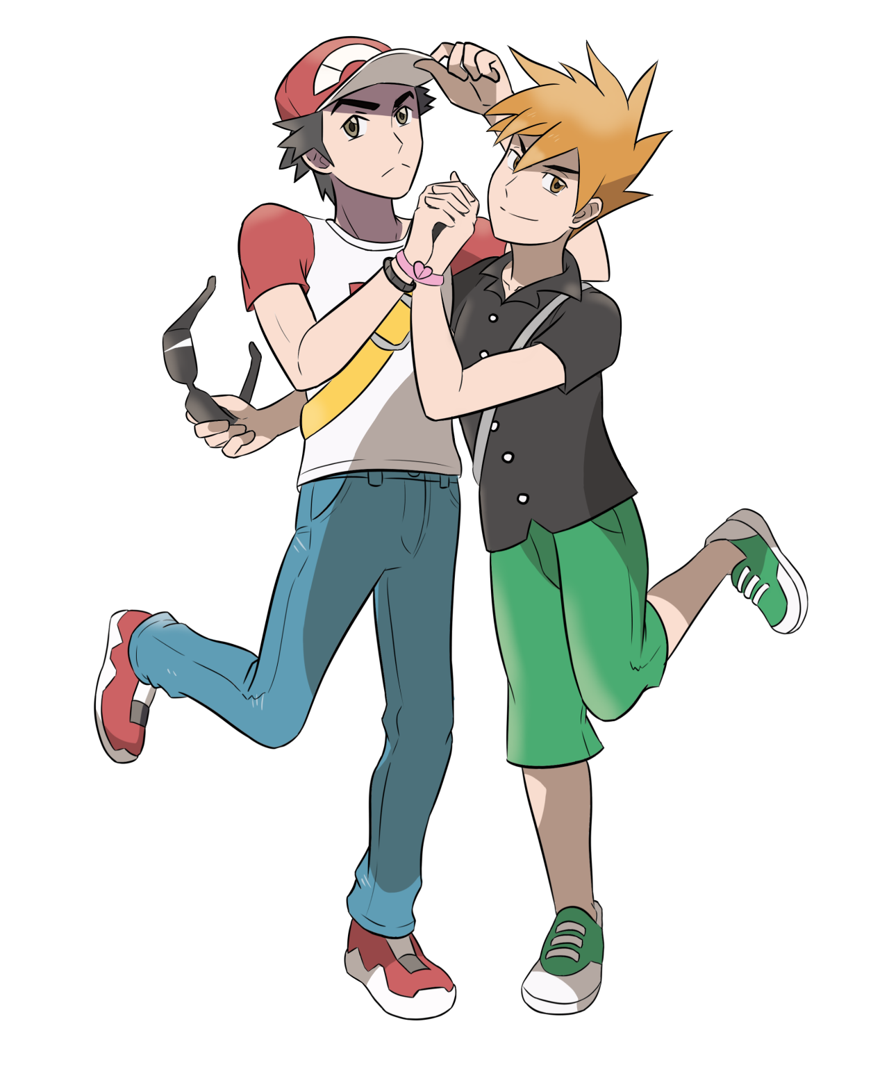 HONEYMOONERS RED AND GREEN WANT TO BATTLE!I'm like 95% ... - Red X Character