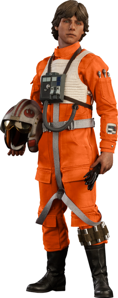 Luke Skywalker Red Five Xwing Pilot Sixth Scale Figure