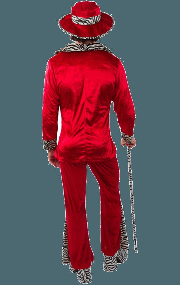 Adult Red Pimp Costume  fancydresscom  Fancydresscom