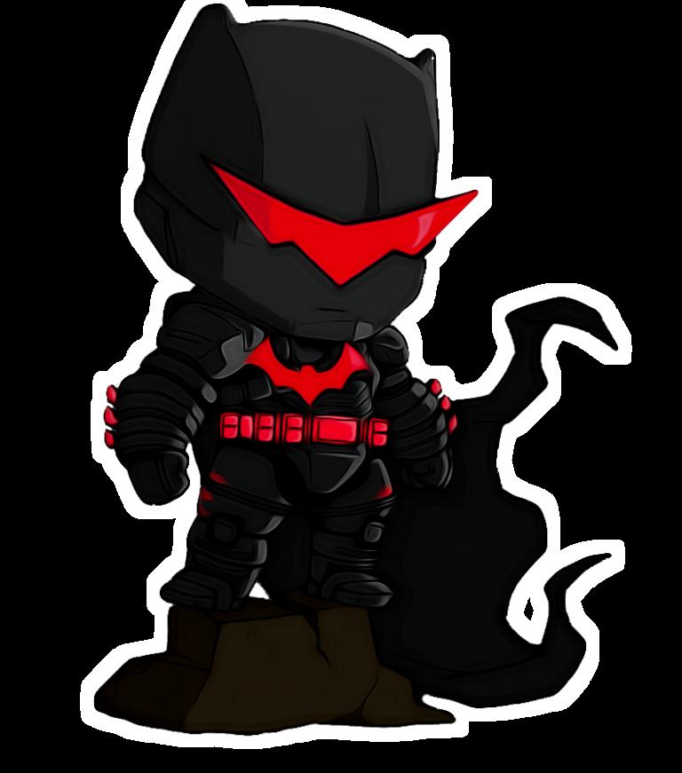 Justice League Batman Black Costume PNG | PNGlib – Free ... - Red X Costume
