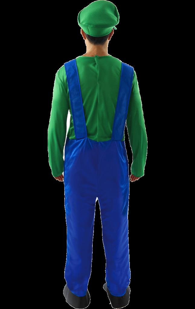 Mens Luigi Super Mario Costume  fancydresscom