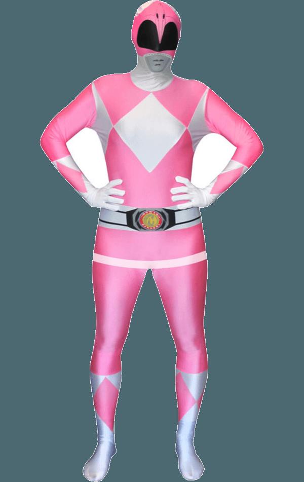 Pink Power Ranger Morphsuit Costume  fancydresscom