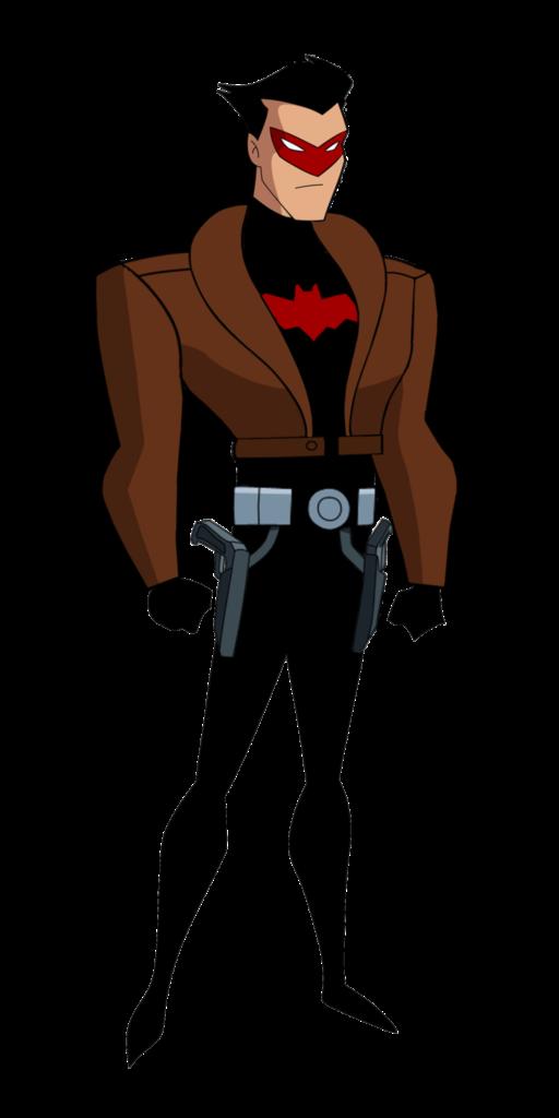 Batman TAS Red Hood Jason Todd Unmasked by TheRealFB1