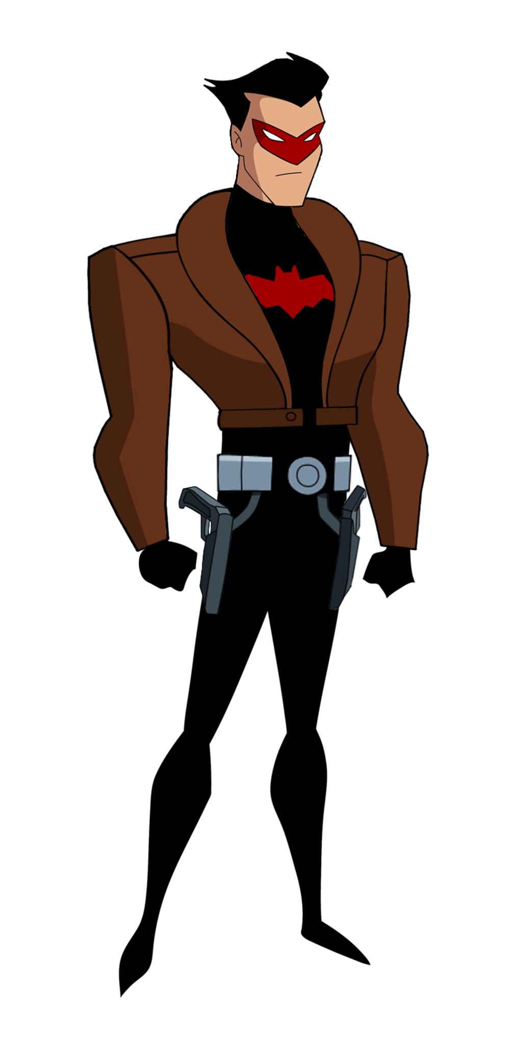 Batman TAS: Red Hood (Jason Todd) Unmasked by TheRealFB1 ... - Red X DC Art