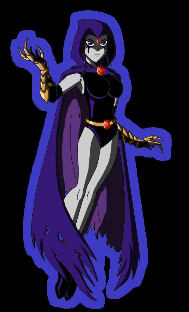 DC  New Teen Titans  Raven by Moheart7 on DeviantArt