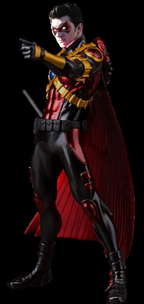 Tim Drake Red Robin Drake Bell Transparent by gasa979 on