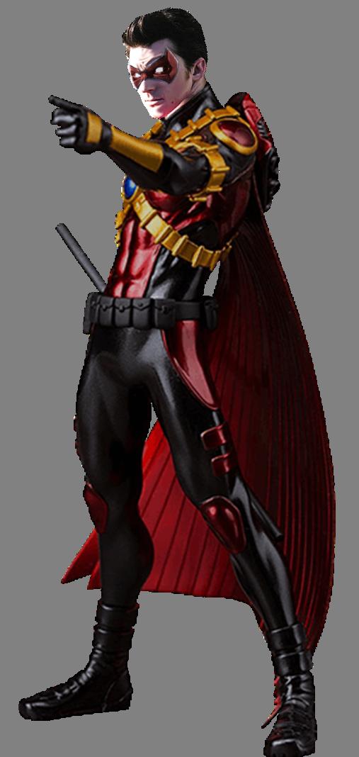 Tim Drake Red Robin (Drake Bell) Transparent by gasa979 on ... - Red X DC Art