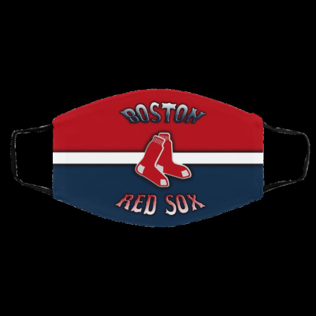 Buy Logo Boston red sox Face Masks  Hottrendshirts