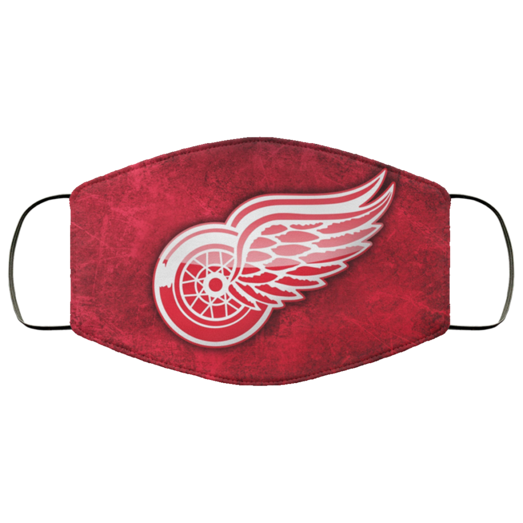 Detroit Red Wings Face Mask