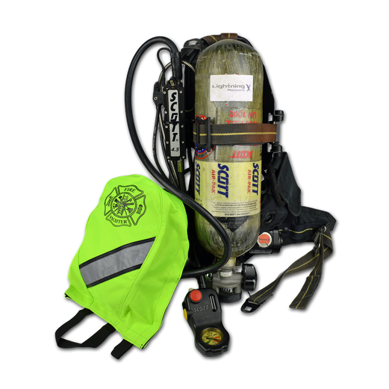SCBA Mask Bag Red  Smoky Mountain Fire Equipment  Services