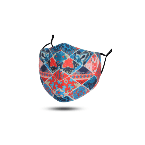 JTC Face Mask RedBlue Multi  Stans Fit For Your Feet