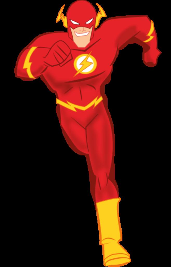 Download High Quality super hero clipart flash Transparent