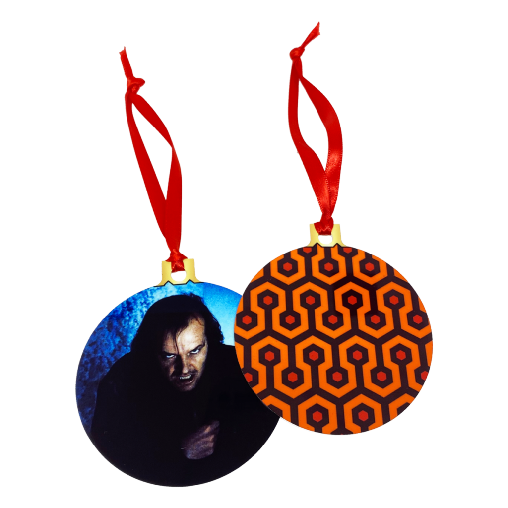 The Shining 2Sided Holiday Ornament  UNMASKED