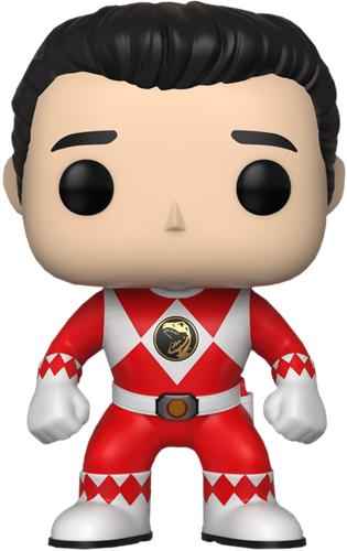 Covetly Funko Pop Television Red Ranger Unmasked 670