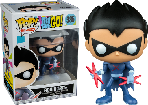 Teen Titans Go  Robin as Red X Unmasked US Exclusive Pop