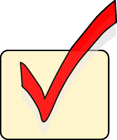 Checkbox Clip Art at Clkercom  vector clip art online