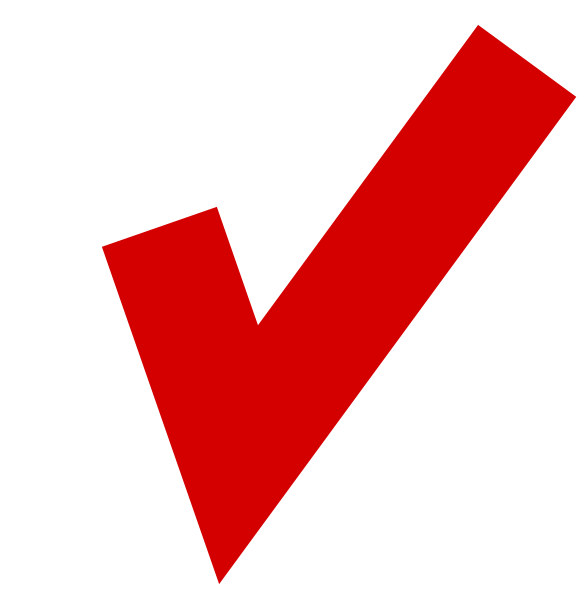 Red Tick In White Box Clip Art at Clkercom  vector clip