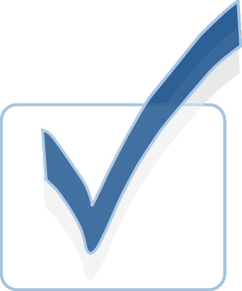 Tick In Checkbox Clip Art at Clkercom  vector clip art