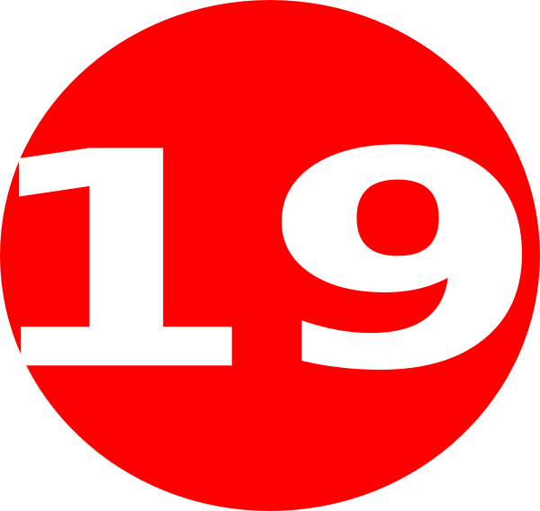 Glossy Red Circle Icon With 19 Clip Art at Clkercom
