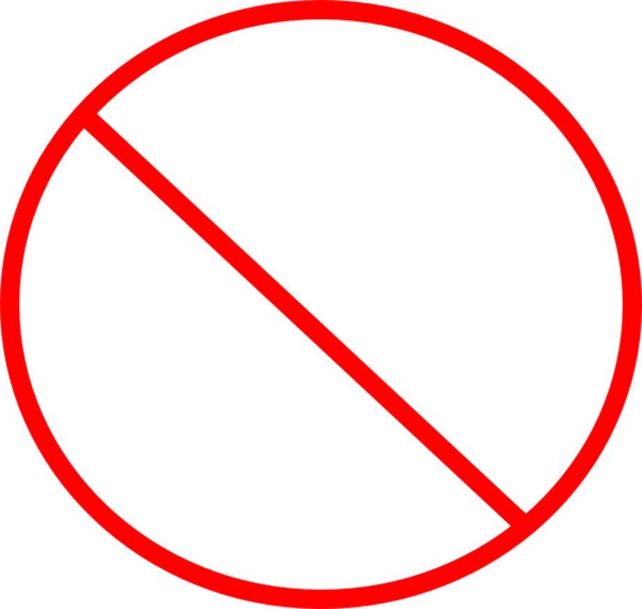 Download High Quality red x transparent circle Transparent