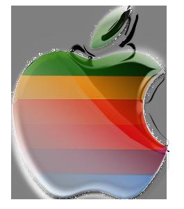New Retro Apple Logo by PrinceSparkle on DeviantArt