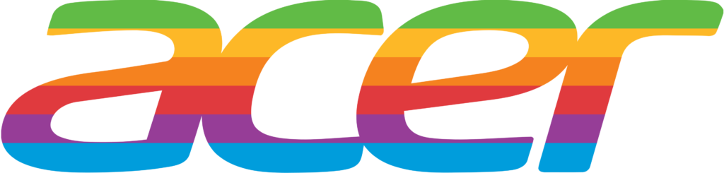 I combined the acer logo with retro apple colors what do