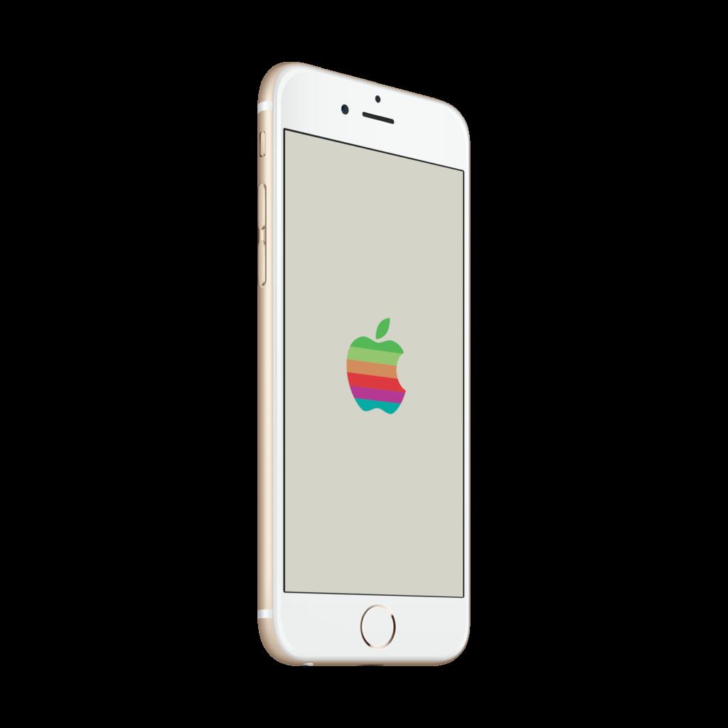Retro Apple Logo WWDC 2016 wallpapers