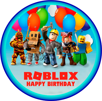 ROBLOX eßbar Party Decoration CakeClothImage Muffin