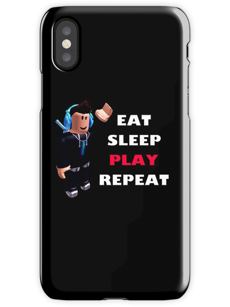 Roblox  Eat Sleep Play Repeat  iPhone Case  Cover