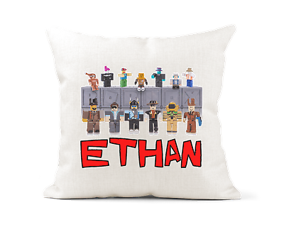 Personalised Roblox Inspired Cushion Cover 40 x 40cm