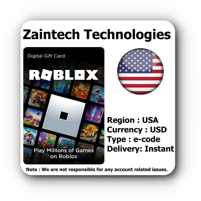 10 Roblox US  Instant Delivery  Other Gift Cards