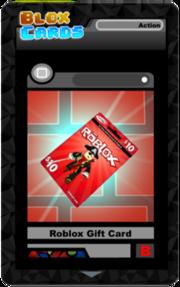 Roblox Gift Card  Blox Cards Wikia  FANDOM powered by Wikia