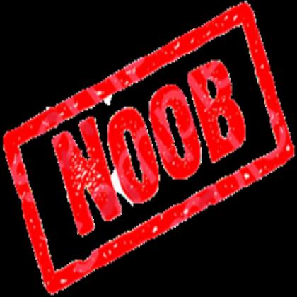 Noob Sign  Roblox