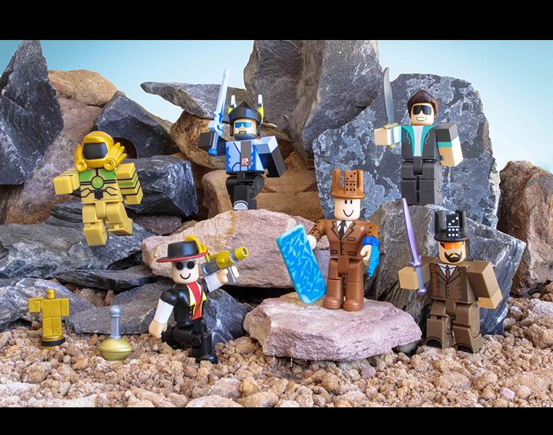 Jazwares Legends Of Roblox Six Figure Pack